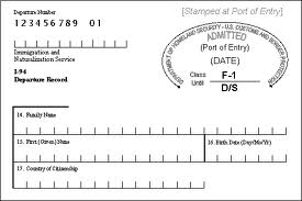 Electronic I-94 Card, I-9 Forms and more | Immigration Compliance ...